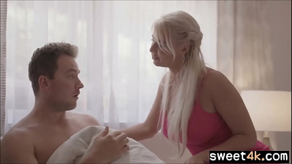 Virgin Sons first time with busty Mom