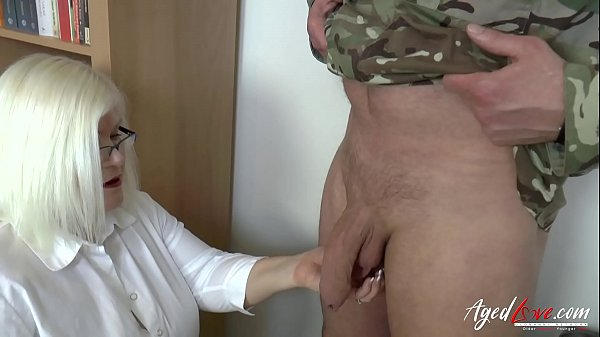 AgedLovE Sexologist Helping Former Soldier Hard Thumb