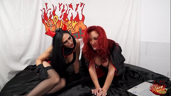 Two witches are bitches with Luna Dark and Mary Rider
