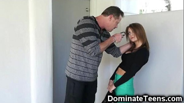 Stepdad Punishes and Fucks Defenseless Teen! Thumb