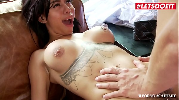 PORNO ACADEMIE - #Canela Skin #Rick Angel - Sexy Big Tits Latina Hardcore Drilled At School By Principal Thumb