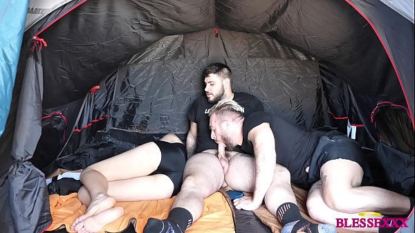 He fucks his friend while the girlfriend sleeps on a camping trip - Magic Javi & Manuel Scalco & Paola Hard
