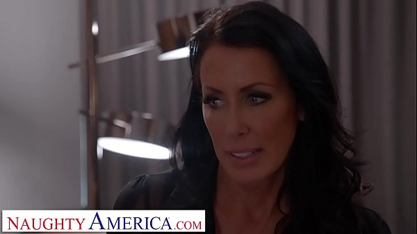 Naughty America Reagan Foxx roleplays as naughty step mom before fucking