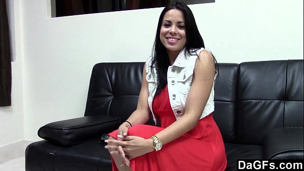 First casting with fucking an hot busty latina Thumb