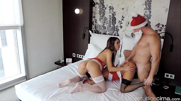 POV Spanish Christmas Threesome