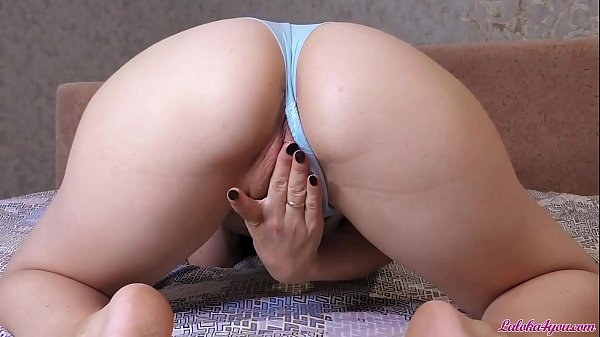 Sexy Babe with Big Ass Changes Beautiful Panties and Masturbates Pussy