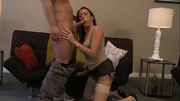 Michelle gives one of her students a blowjob after a private lesson…