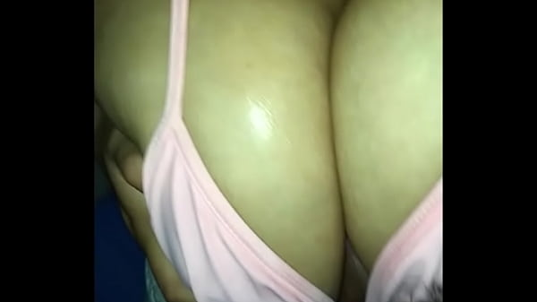 I let cousin fuck my tits