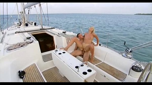 blonde on the boat