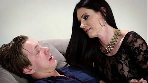 Russian man trapped in a crazy MILF's house - India Summer Thumb