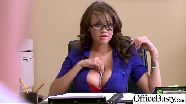 Hardcore Action In Office With Big Tits Slut Naughty Girl (cassidy banks) vid-13
