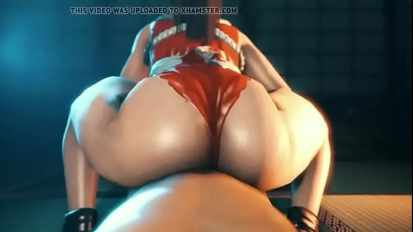 3d thicc ass get creampie