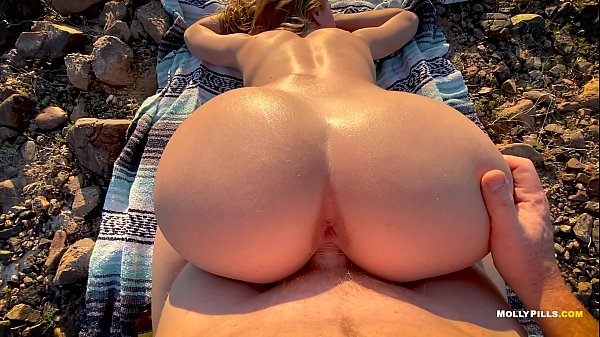 Surprise Anal Sex Valentine's Day Present - Molly Pills - Amateur Couple POV