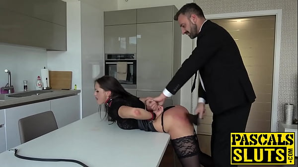 Submissive Barbara Bieber endures hardcore spanking and fucking
