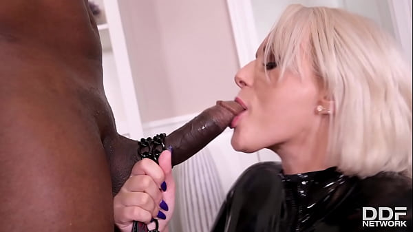 Dirty Angel Angel Wicky Orders Door-to-Door BBC for Her Back Door