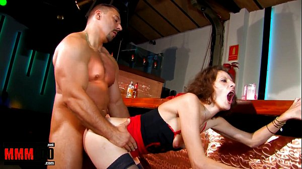 French Milf fucked in the ass by a large cock a...