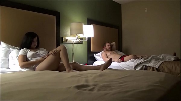 Step Brother & Sister Share a Hotel Room - Annika Eve - Family Therapy
