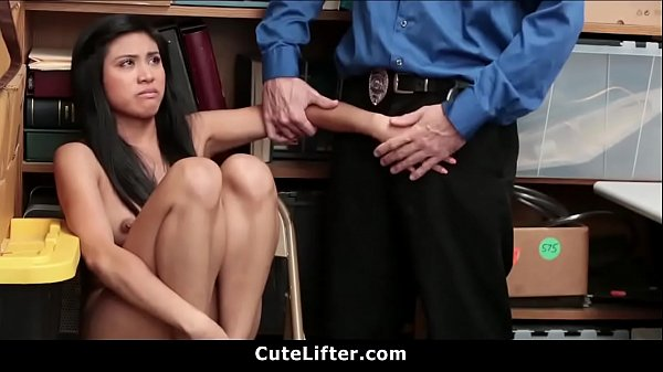 Asian Teen Shoplifter Strip Searched And Banged Thumb