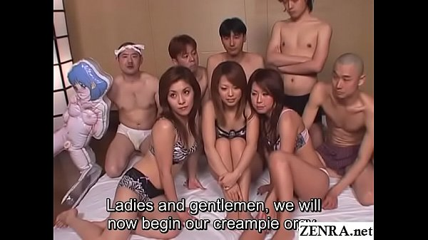 JAV real deal big orgy party begins Subtitles