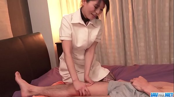 Massage ends with hard sex for tight Nana Nakamura - More at javhd.net