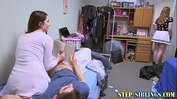 Real stepsister sucking and riding
