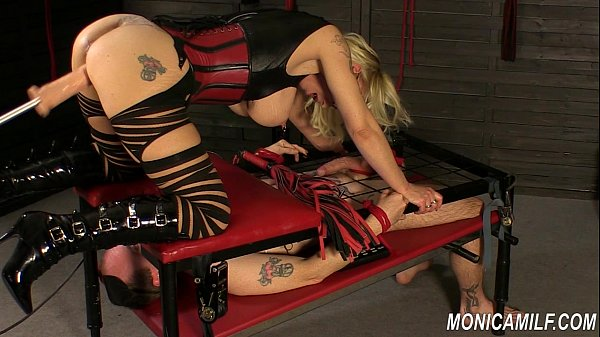 Monicamilf is squiring on her femdom slave - No...