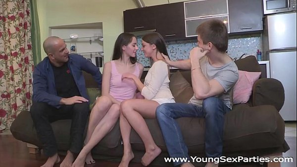 Young Sex Parties - Teen porn gangbang surprise...