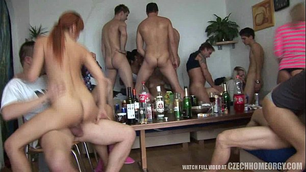 Amateur Girls Pounded at Hardcore Home Party