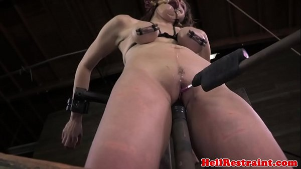 Mouth gagged skank brutally humiliated