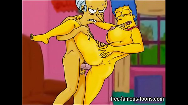 Marge Simpson lusty cheating wife