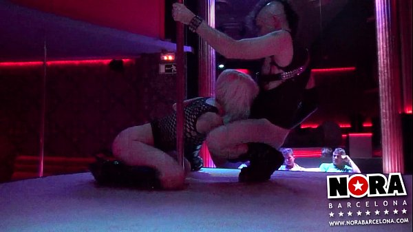 Nora Barcelona & Ratpenat Live porn in Hot Night Palace