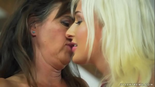 Mature woman and her y. lesbian friend - Marian...
