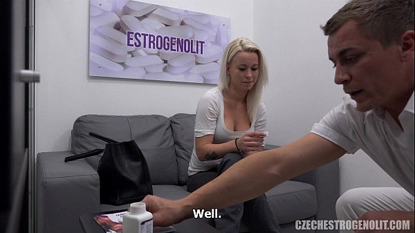 Busty Blonde Seduces Her Doctor Thumb