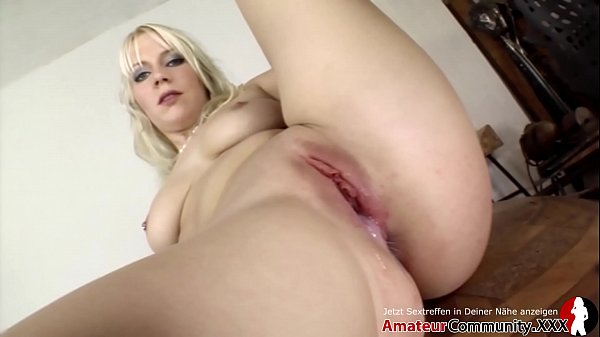 Blonde Jessy gets banged hard & her little snatch gets creamed with goo! AMATEURCOMMUNITY.XXX