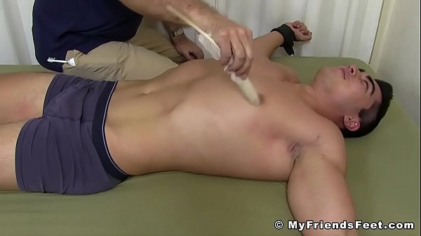 2019-01-01 19:26:46 - Restrained hunk wants to cry from all of this tickling 10 min  HD http://www.neofic.com