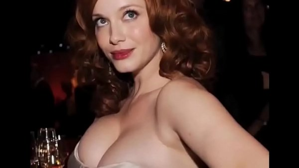 Christina Hendricks Boobs Compilation