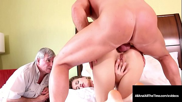 Step Dad Watches Step Daughter Haley Reed Get Anal Pounded !