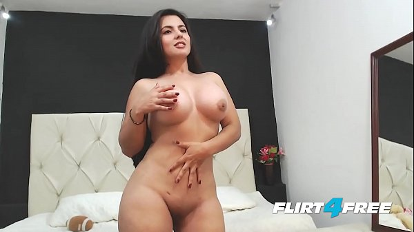 Beautiful Sarah Harper Reveals Her Big Tits and Ass with Striptease Thumb