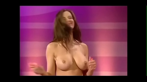 Big tits topless TV show