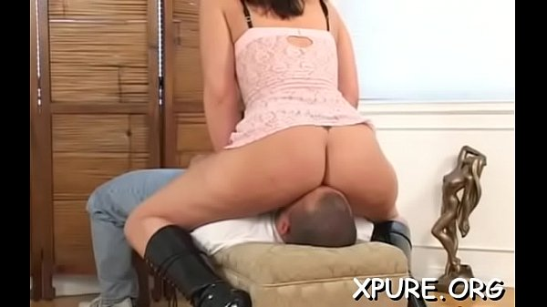 Trapped man gets mistreated and s. by hot chicks