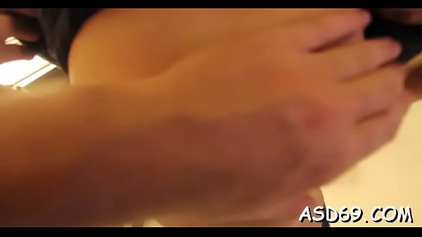 Tight thai chick fondles herself