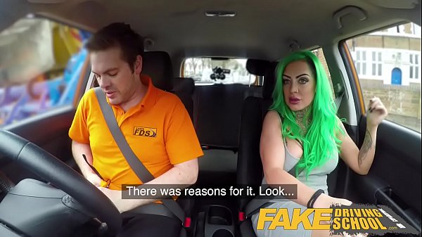 Fake Driving School Busty learner is wet and horny for instructors cock Thumb