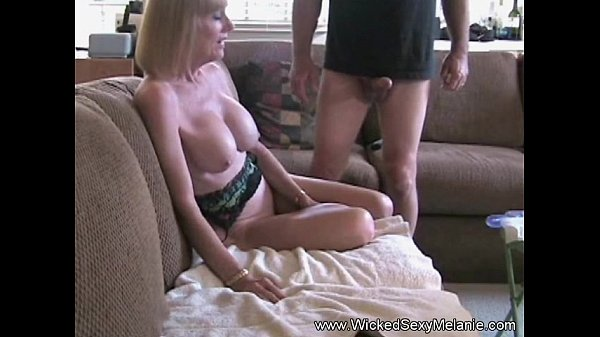 Fucking in the Couch and Cum in my Mouth