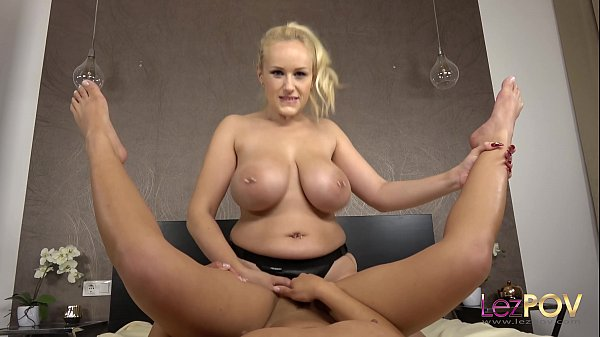 Busty Blonde Angel Wicky Teases and Fucks Liv R...