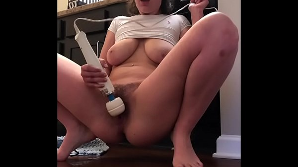 Natural PAWG plays with her tight wet pussy