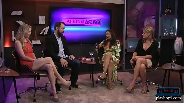 Talk show about sex talks about having sex in p...