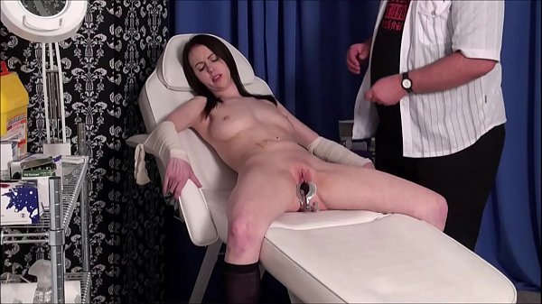 Patients medical fetish and bizarre doctors bdsm of enslaved gyno submissive Emily Sharpe Thumb