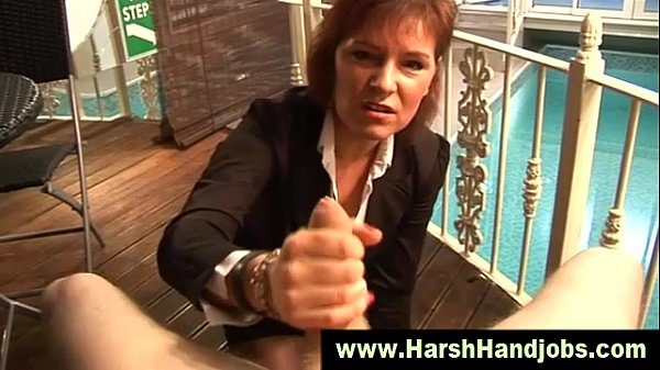 Wendy Taylor Porn: Angry Mature Gives Harsh Handjob