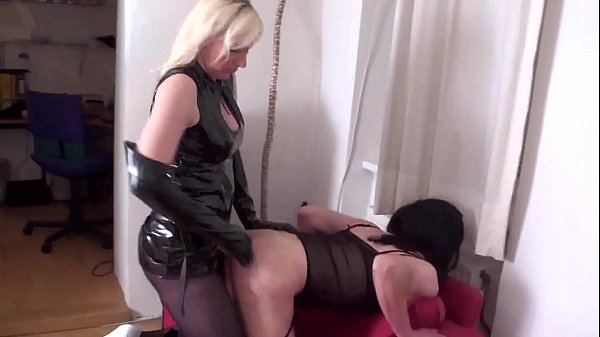 Slave Bitches get fucked by Mistresses
