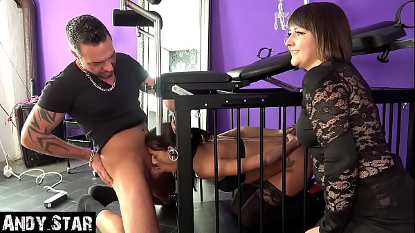 SLAVE IN THE CAGE MUST LET HER MOUTH FUCKED | VERY SUBMISSIVE WHORE